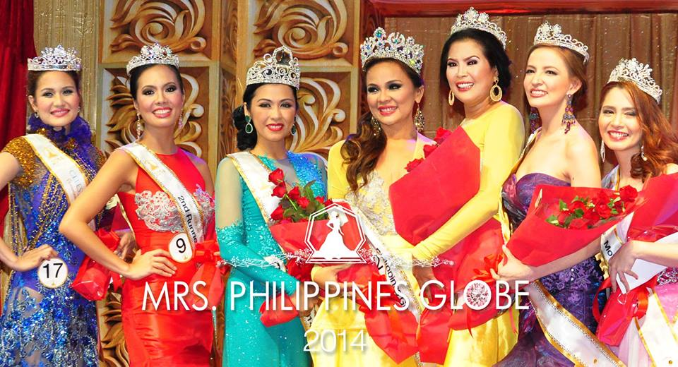 Mrs. Philippines Globe spotted with Island Rose!
